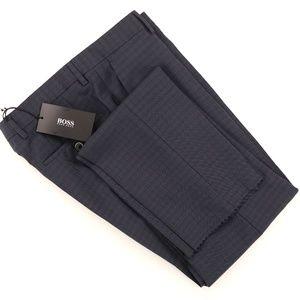 New Hugo Boss Genesis2 Wool Dress Pants 30 X Unf.